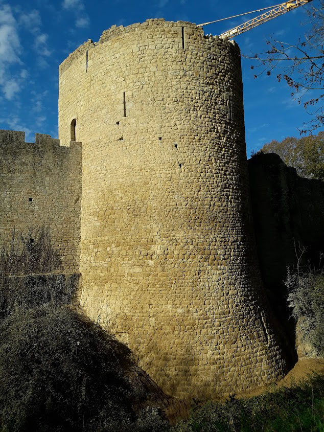 Restauration-de-la-tour-du-château-de-Bressuire
